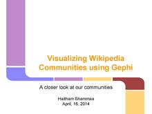 Visualizing Wikipedia Communities using Gephi.pdf