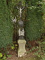 Vitín - křížek u rybníčku jižně od hřiště.JPG