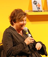 Viveca Lärn på bokmässan i Göteborg 2010.