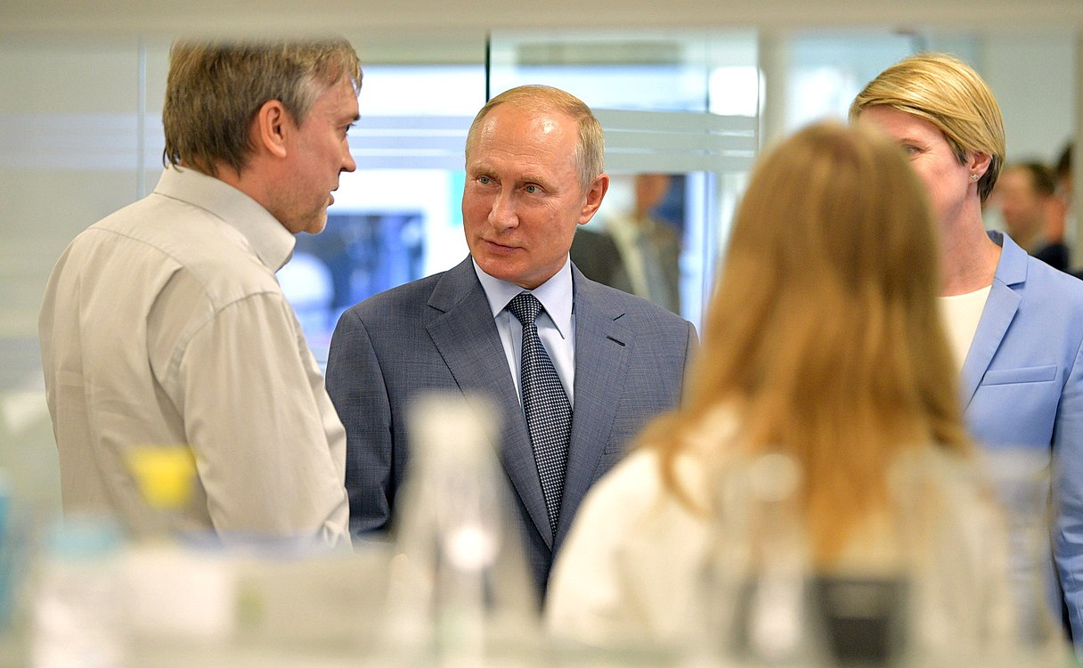 Vladimir Putin visited the Sirius Educational Centre (2018-09-01) 01.jpg