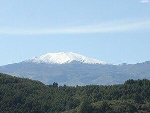 Volcán Puracé from Popayán - 2006.jpg