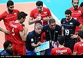 Volleyball, match between Iran and Egypt at the Olympic Games in 2016 07.jpg