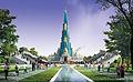 Vrindavan Chandrodaya Temple Render - Front View 01.jpg