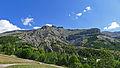 Vue orientée nord-est depuis la route d'Alliège (Péone).JPG