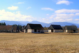 Vavrišovo - The western part of the Tatras is visible from the village