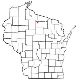 Minocqua Wi Map Minocqua, Wisconsin   Wikipedia