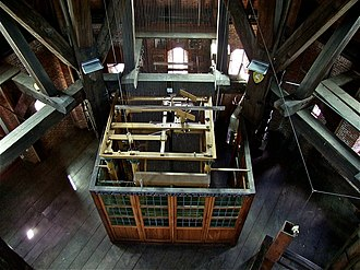 Grote of Sint-Jacobskerk (The Hague) - Image: WLM roel 1943 Automatisch carillon Haagsetoren