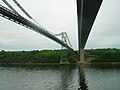 Waldo-Hancock and Penobscot Narrows Bridges entering Verona Island July, 2007 (2).jpg