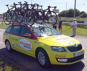 WB Veranclassic Aqua Protect - Image: Wallonie Bruxelles car 1