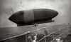 Airship America, from the rescue ship Trent