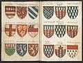 Wapenboek Beyeren (armorial) - KB79K21 - folios 022v (left) and 023r (right).jpg