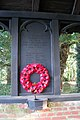 War memorial in lych gate at All Saints church - geograph.org.uk - 1692059.jpg