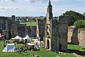 Warkworth Castle bailey, 2011.jpg