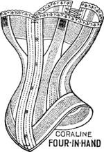 Warner's Four-in-Hand Corset.