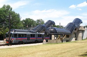 Warrensville Cleveland RTA Green Line Station.jpg