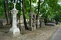Warszawa - Reduta Wolska - cmentarz prawosławny - pomnik nagrobny z 1875 roku.jpg