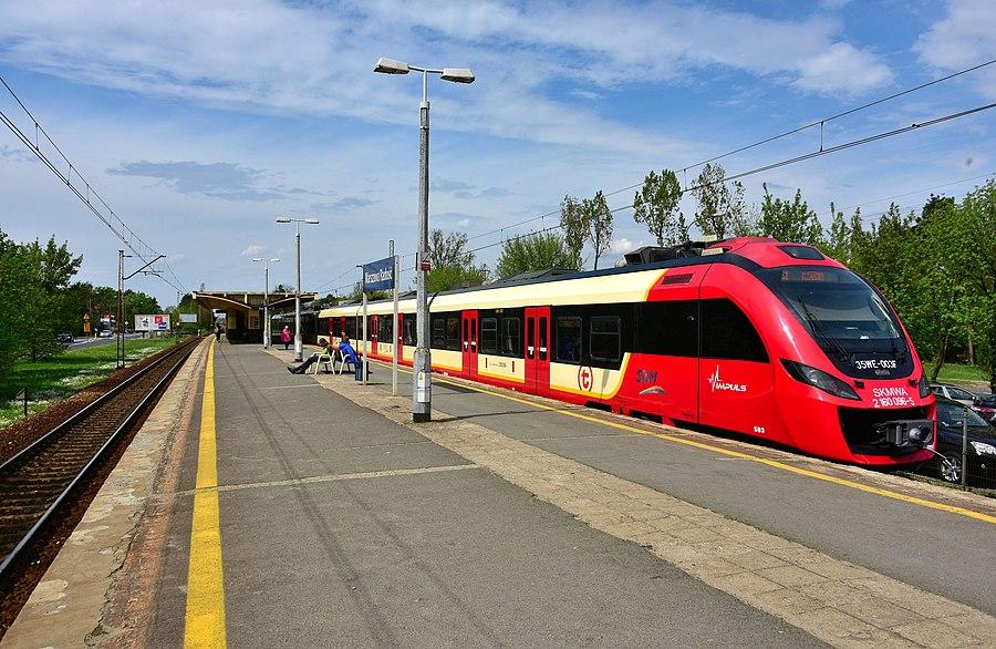Warszawa Radość railway station