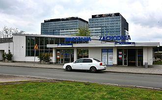 Warszawa Zachodnia station - Image: Warszawa Zachodnia od strony ul. Tunelowej