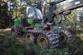 Wartenberg Landenhausen John Deere forest harvester ds.png