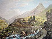 Wassen Gotthardpost 1845