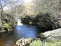 Waterfall, Ridge End Burn - geograph.org.uk - 1273280.jpg