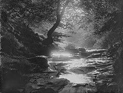 Waterfalls Clydach Valley nr Brynmawr (4641132).jpg