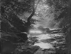 Waterfalls Clydach Valley nr Brynmawr (4641132).jpg
