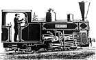 Weidknecht built two 600 mm gauge locomotives in 1892 for a rack track installed near the Corbeil factory at 'Bras de Fer', Type 31 of 13.6 t, , Decauvile N° 157 and 160.jpg