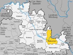 Weikersheim im Main-Tauber-Kreis