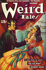 Weird Tales cover image for November 1940