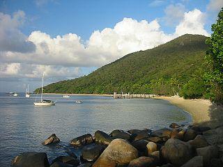 Suburb of Cairns Region, Queensland, Australia