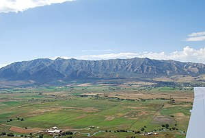 Cache Valley - Image: Wellsville Mountains