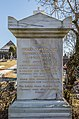 Wernberg Damtschach Friedhof Grabstein Felix Wolfgang Freiherr Jöchlinger 06122016 5463.jpg