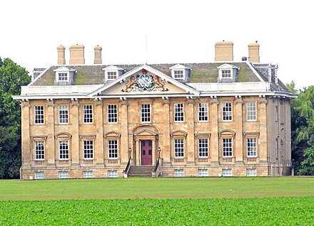 Cowick Hall in the East Riding of Yorkshire, seat of the Viscounts Downe West Cowick, Cowick Hall - geograph.org.uk - 1383755.jpg