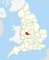 West Midlands within England