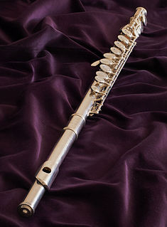 Western concert flute Transverse woodwind instrument made of metal or wood