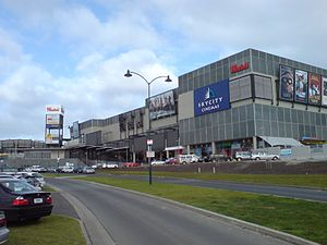 Westfield Albany - Looking at the centre from the northwest