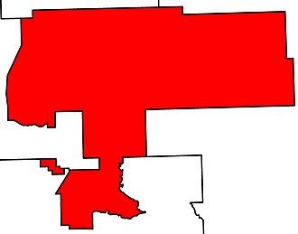 Wetaskiwin-Camrose - Image: Wetaskiwin Camrose electoral district 2010