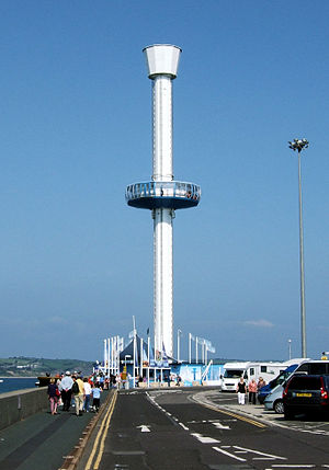 Jurassic Skyline - The Jurassic Skyline tower