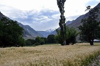 Shigar - Bhasha Valley