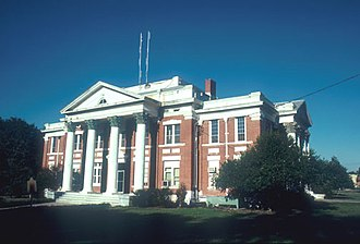 Wheeler County, Georgia - Image: Wheeler County Georgia Courthouse