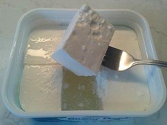 Beyaz peynir - Image: White cheese from Turkey
