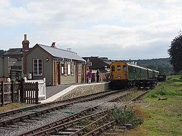 National Railroad Museum >> Whitecroft railway station - Wikipedia