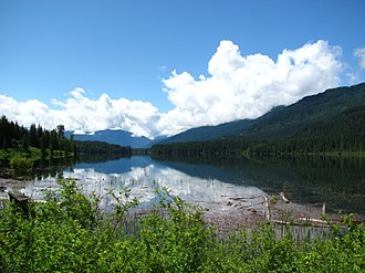 Slocan River - Image: Wide Slocan River panoramio