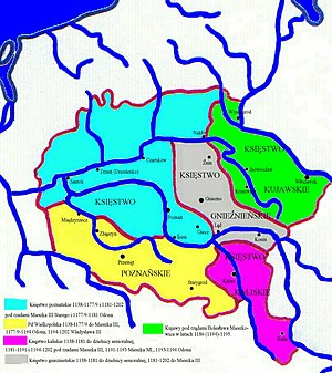 Duchy of Greater Poland - Greater Poland and Kuyavia under Duke Mieszko the Old (1138-1202)