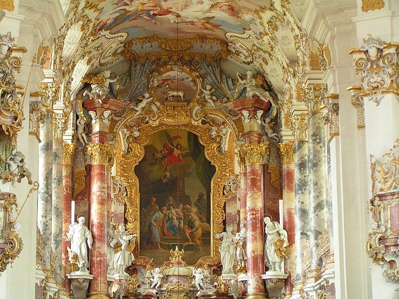 Chor der Wieskirche