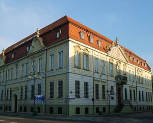 Mansard roof - The Landed Gentry House in Szczecin, Poland