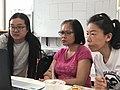 Wikimedia Taiwan Tagalog language Wikibooks editing by Taiwanese new immigrants volunteers.jpg