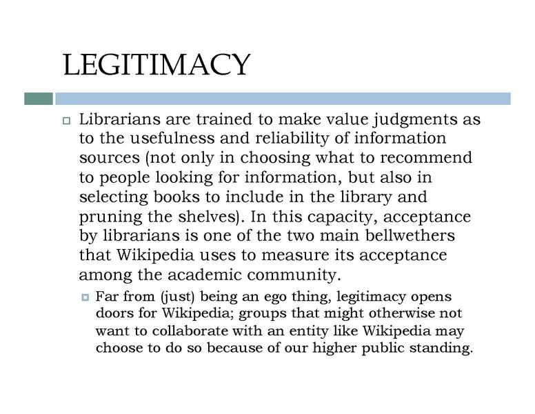 wikipedia and reliability The reliability of wikipedia (primarily of the english-language edition ), compared to other encyclopedias and more specialized sources, has been assessed in many ways, including statistically , through comparative review, analysis of the historical patterns, and strengths and weaknesses inherent in the editing process unique to wikipedia.