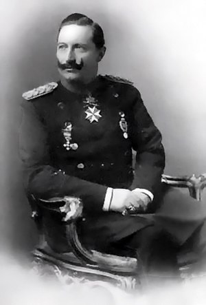 Wilhelm II, German Emperor - In this photo of Wilhelm, his right hand is holding his left hand, which was affected by Erb's palsy.